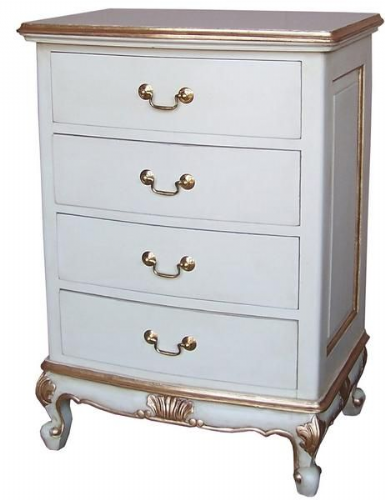 Louis Small Chest of Four Drawers